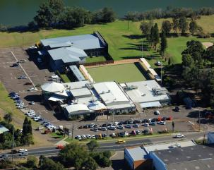 Club Macquarie Ltd aerial view
