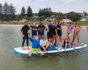 Stand Up Paddle Boarding Shellharbour hero