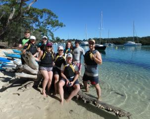 Jervis Bay Kayak & Paddlesports hero